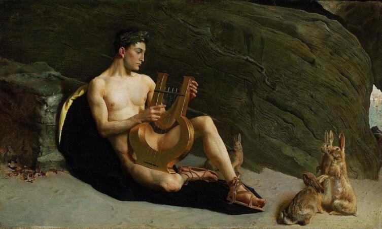 Джордж Форест де Браш, «Орфей», 1890 г.