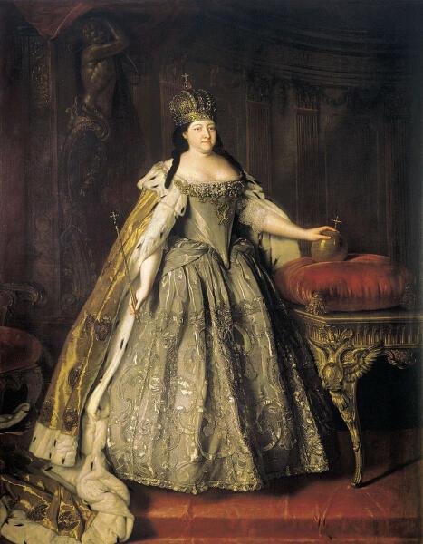 Луи Каравак, «Портрет императрицы Анны Иоанновны»