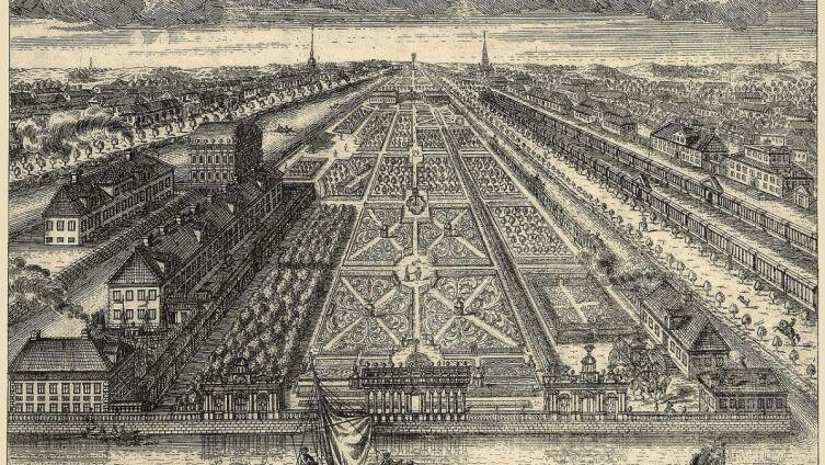 А. Ф. Зубов, «Летний сад в 1716 году», 1716 г.