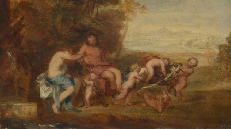 Джордж Фредерик Уоттс, «Золотой век» (фрагмент), 1840 г.