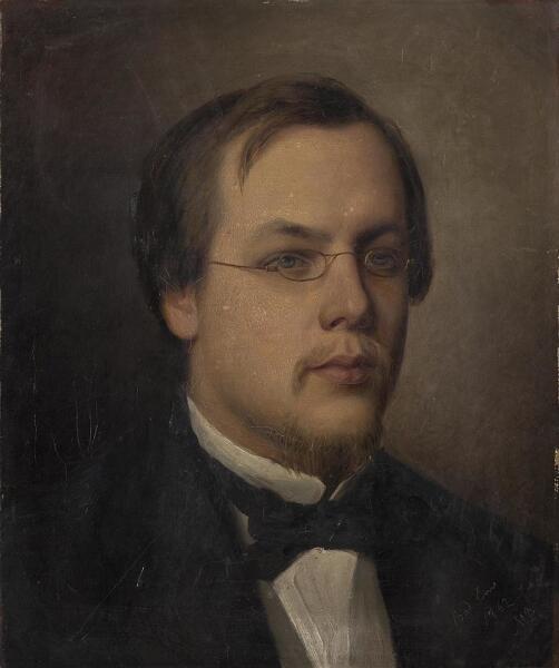М. П. Боткин, «Портрет Сергея Боткина», 1862 г.