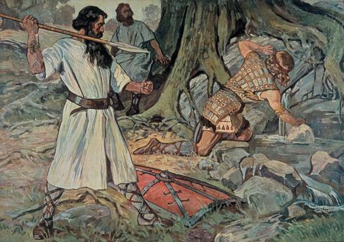Рудольф Ман, «Смерть Зигфрида», 1911 г.