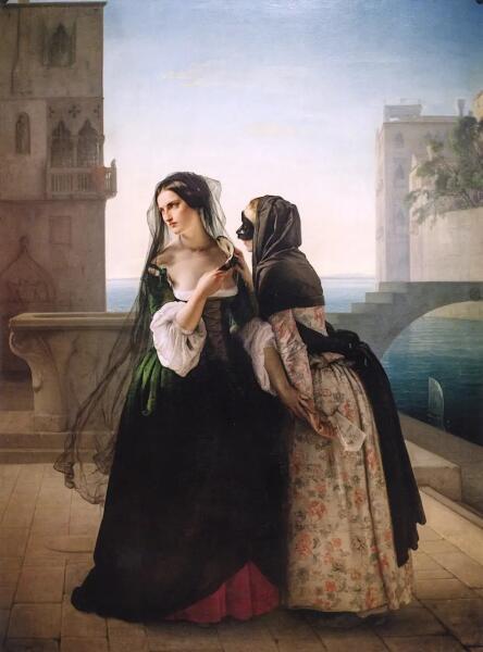 Франческо Айец, «Совет о мести (Клятва мести)», 1851 г.