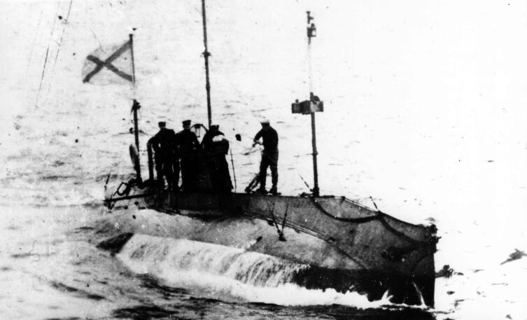 Подводная лодка «Стерлядь», 1910 г.