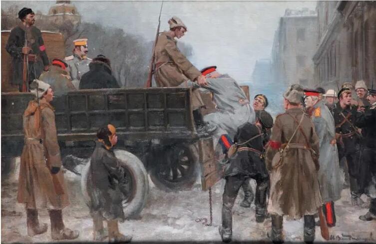 И. А. Владимиров, «Арест царских генералов», 1926 г.