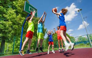 Родиной баскетбола принято считать Соединённые  штаты Америки
