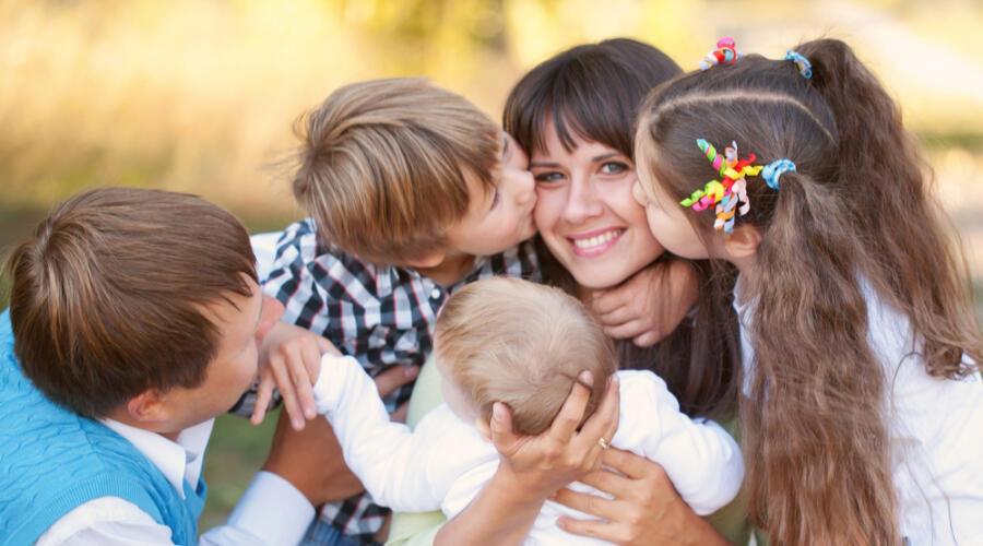 Чем хороша многодетная семья?