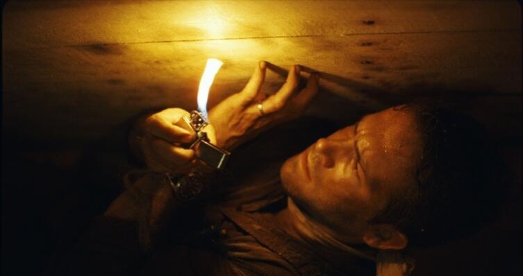Кадр из к/ф «Погребенный заживо», 2010 г.