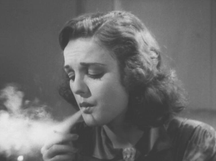 Кадр из к/ф «Прокуренные Мозги», 1936 г., актриса Дороти Шорт в роли Мари Лейн