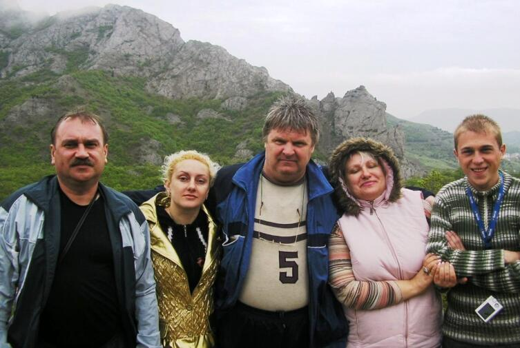 Семейное турне по Крыма 2008 г.