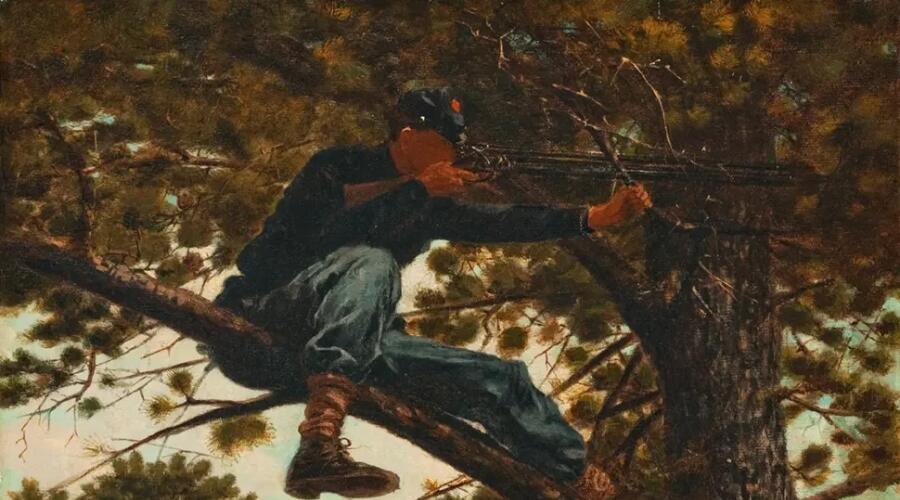 Уинслоу Хомер, «Снайпер», 1863 г.