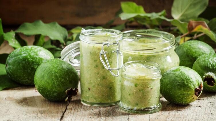 Как приготовить варенье из фейхоа, сохранив витамины?