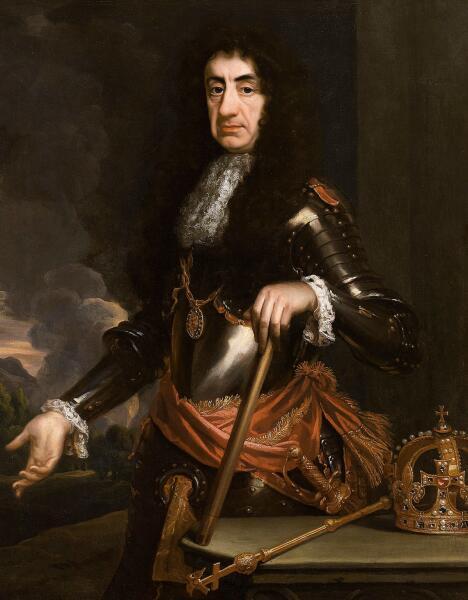 Король КарлII. Его именем был назван Чарлстон (Чарлс Тоун)