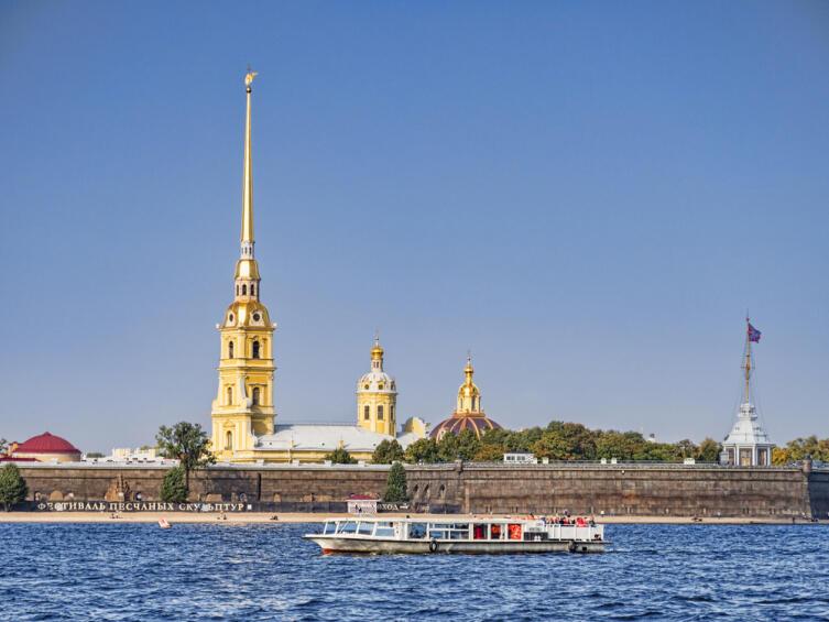 Петропавловская крепость. Санкт-Петербург. Россия