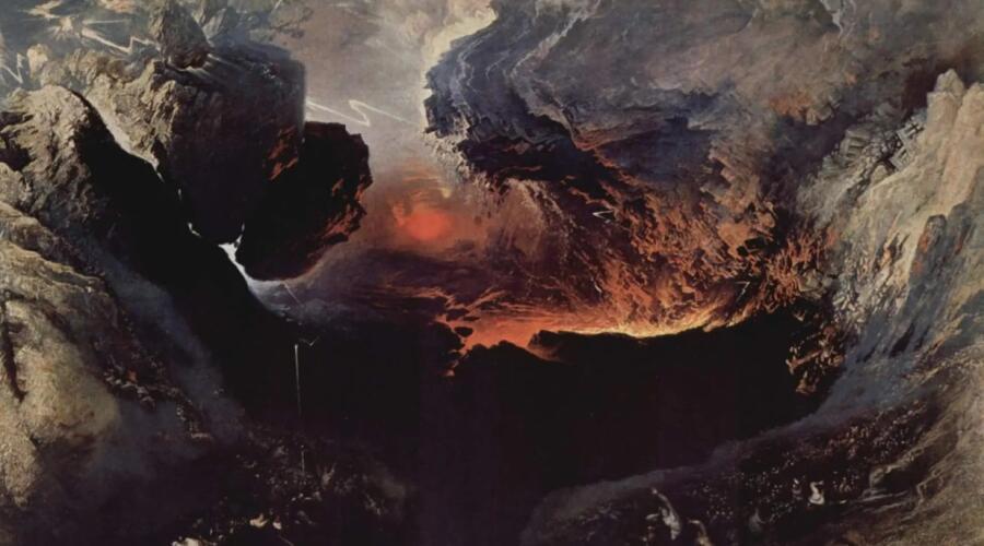Джон Мартин, «Судный день (фрагмент)», 1853 г.