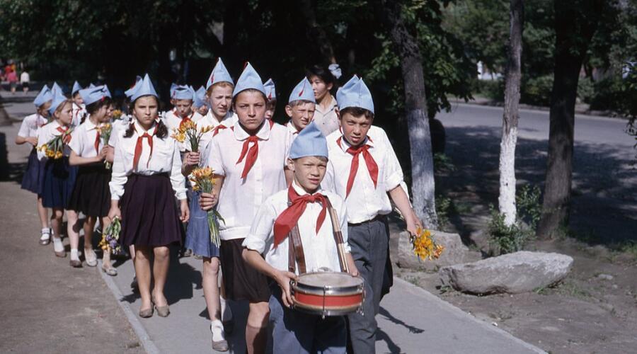 Пионерский отряд, 1964 г.