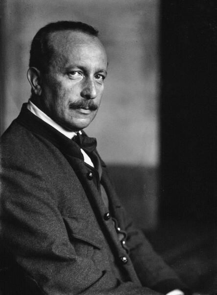 Феликс Зальтен в 1910 г.