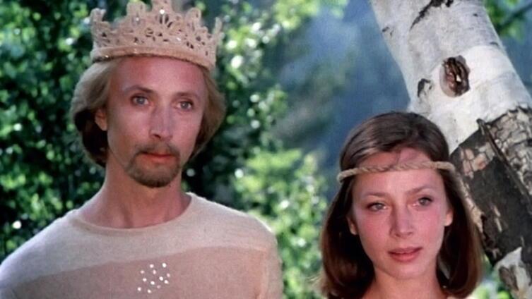 Бэмби и Фалина. Кадр из к/ф «Юность Бэмби», 1987 г.