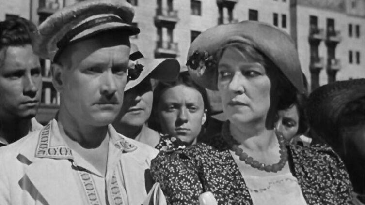 Фаина Раневская в фильме «Подкидыш», 1939 г.