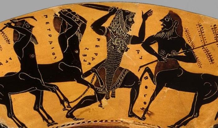 Битва Геракла с кентаврами