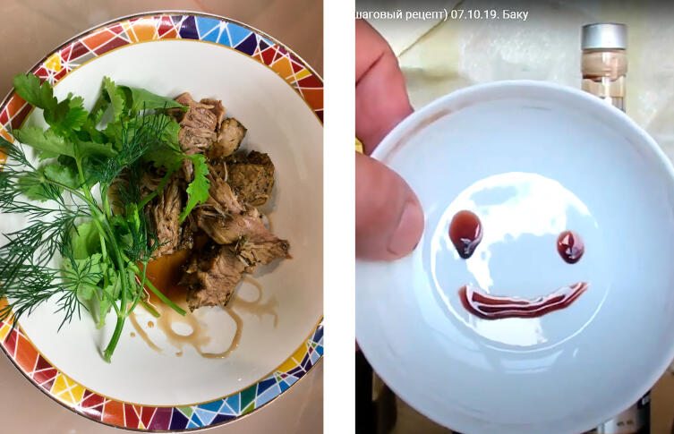 Цвет магазинного соуса на запеченной индейке отличается от домашнего наршараба