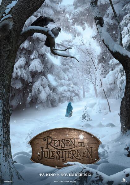 Постер к к/ф «Путешествие к Рождественской звезде», 2012 г.