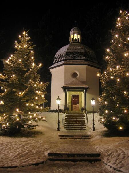 Часовня Тихой ночи в Оберндорфе