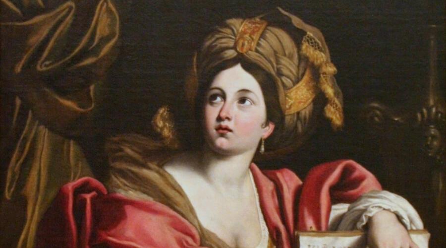 Доменикино, «Кумская Сивилла» (фрагмент)
