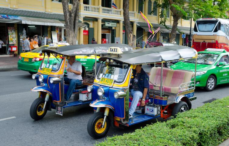 На улице в Бангкоке