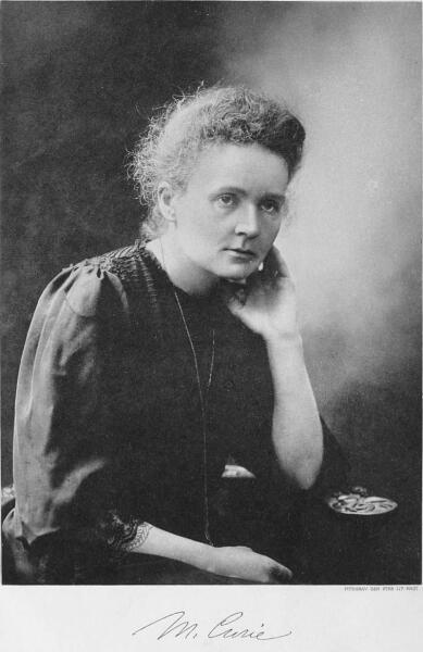 Мария Склодовская-Кюри, фото к Нобелевской премии, 1911 г.