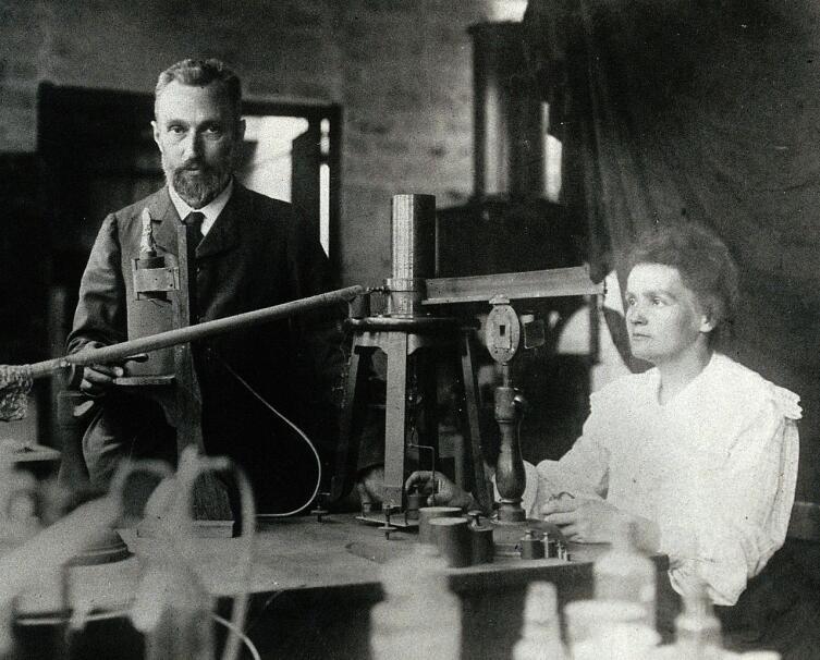 Пьер и Мария Кюри