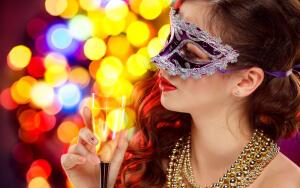 Как создать фантазийный образ к новогодней вечеринке?