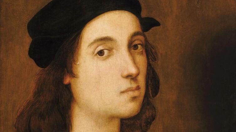Рафаэль Санти, «Автопортрет» (фрагмент), 1506 г.