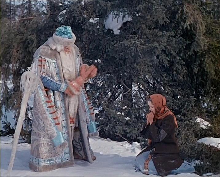 Кадр из к/ф «Морозко», 1964 г.