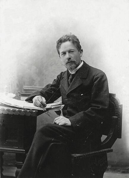 Антон Чехов в 1889 г.