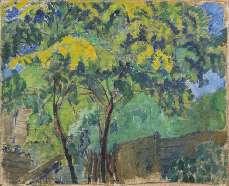 В. Е. Татлин, «Осень (Лето)», 1909 г.