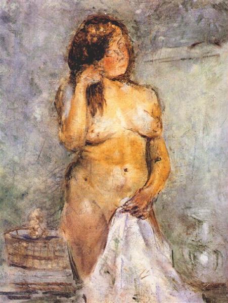 В. Е. Татлин, «Купание женщины», 1930 г.
