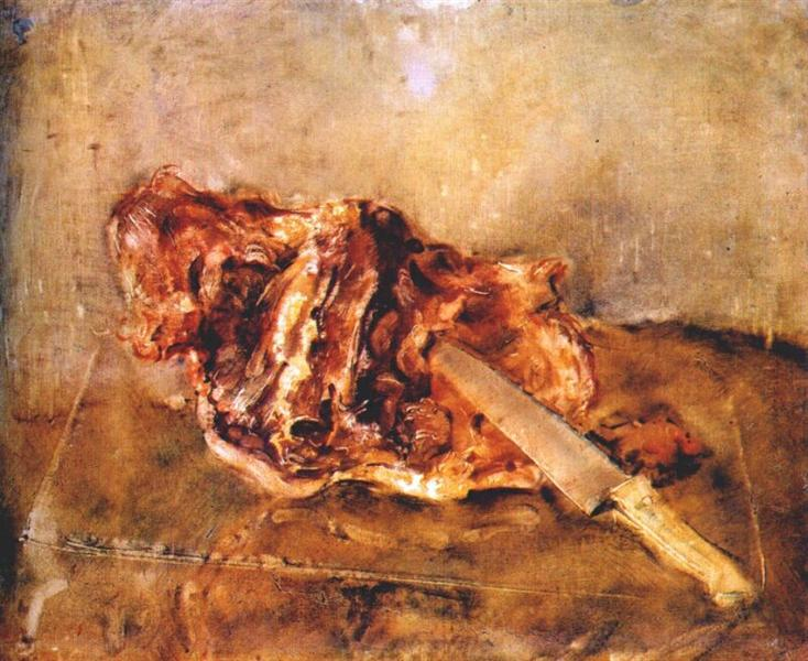 В. Е. Татлин, «Мясо», 1947 г.