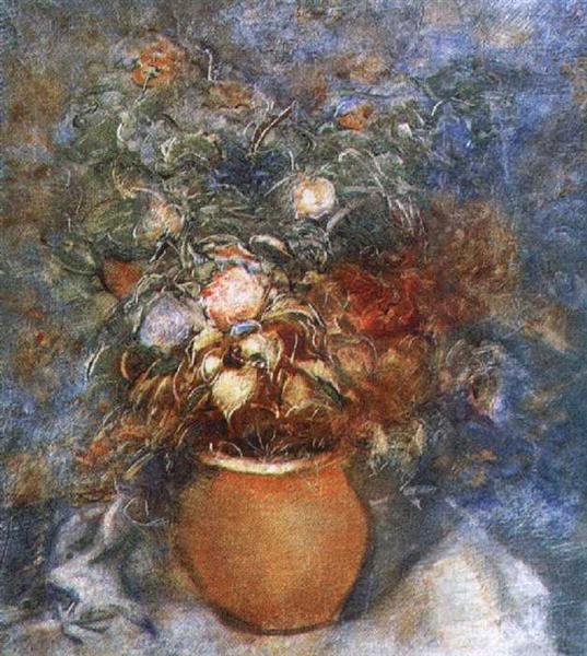 В. Е. Татлин, «Цветы», 1940 г.