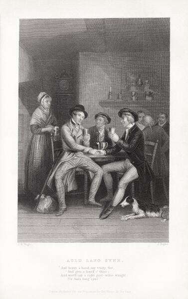 Иллюстрация Джона Мейси Райта и Джона Роджерса к песне
