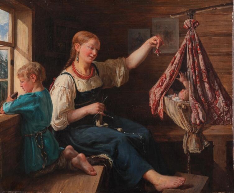 Ф. Н. Рисс, «Колыбельная песня», 1839 г.