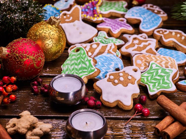 Как приготовить вкусный декор для Нового года?