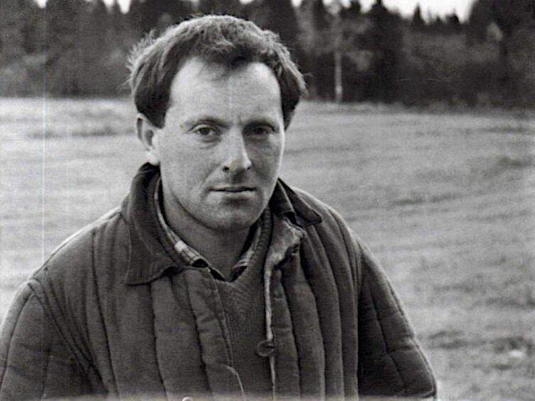 Иосиф Бродский в ссылке. Деревня Норинская, 1964 г.