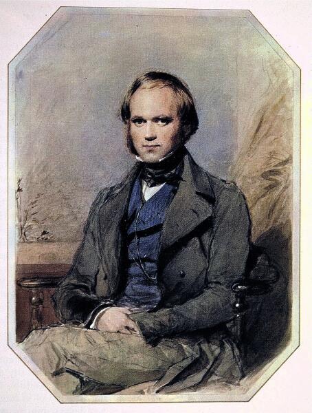 Джордж Ричмонд, «Портрет Чарлза Роберта Дарвина», 1830-е гг.