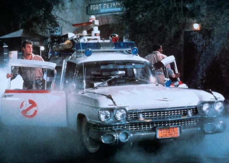 Кадр из к/ф «Охотники за привидениями», 1984 г.