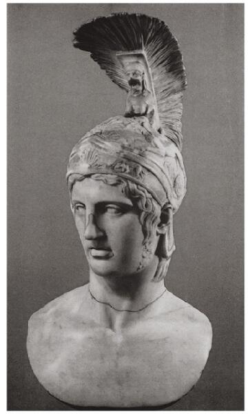 Голова Ахилла. II век н.э.