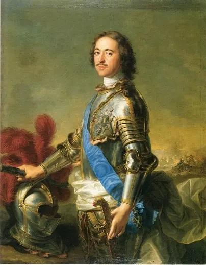 Жан-Марк Наттье, «Царь Пётр I», 1717 г.