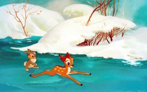 Почему по студии Диснея бегали олени?