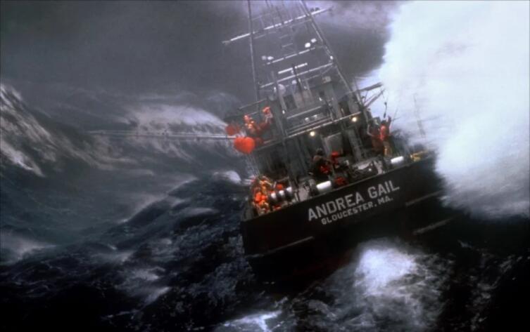 Кадр из к/ф «Идеальный шторм», 2000 г.