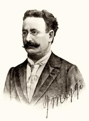 Юлиус Магги в 1900 г.